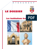 Lettre Du Maire -2007-04 + Dossier Institutions