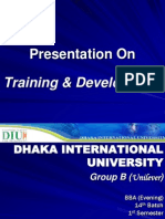 Training & Development (NGT- 105)