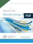 Monthly Energy Report