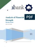 Faysal Bank Report Sikandar