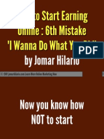Omc2 Lesson 2 the Biggest Mistake Commited by Most People Online PDF