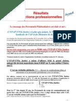 20111123 - UFAP Resultats Elections Professionnelles