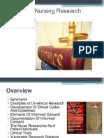 ethicsandnursingresearch-110527230515-phpapp01