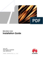 HUAWEI BBU Installation Guide
