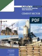 Cement Sector Analysis Report Karvy
