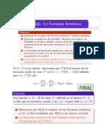 3.1 Funciones Armonicas  (Apuntes)