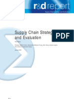 RD Supply Chain Strategy
