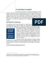Intro to Strategic Planning