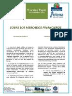 SOBRE LOS MERCADOS FINANCIEROS - ON FINANCIAL MARKETS (Spanish) - FINANTZ MERKATUEZ (Espainieraz)