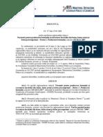 Proiect Ordin NE012-1-2007