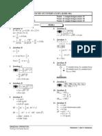 Solusi Kode 801 _XI IPA