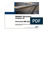 BW Source System Restoring