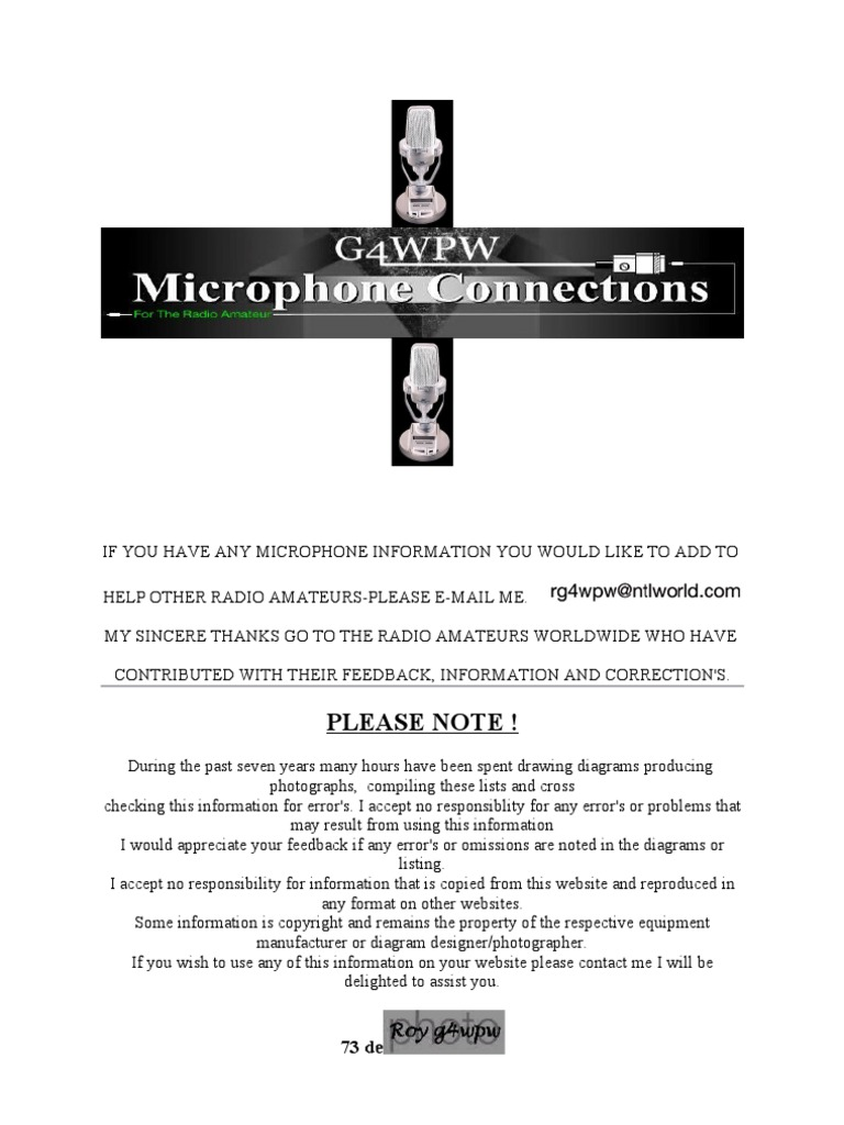 Shure 527b Wiring Diagram Free Download Microphone Diagrams Connectors