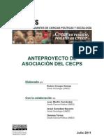 110630-ANTEPROYECTO ASOCIACIÓN CECPS