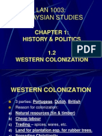 Chapter 1.2 - Western Colonization