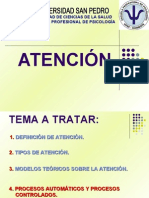 Psicologia Cognitiva - Clase - Atencion