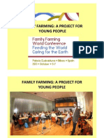 Report on Working Groups Family farming a project for young people