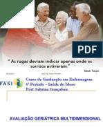 AULA - Avalia+º+úo Geri+ítrica Multidimensional