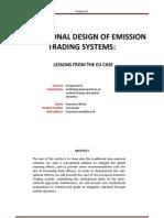 Nicoli (2011) the Eu Emission Trading Scheme