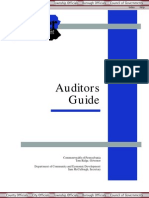 Auditors Guide
