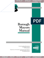 Borough Mayor Manual