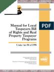 Manual Taxpayers