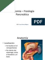 Anatomía – Fisiología Pancreatica