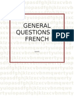 General Questions in French