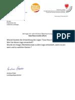 Kosten für Logo CasaHausCultura Landtagsanfrage&Antwort 1111