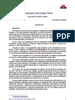 Articulos Cod Penal Reformado