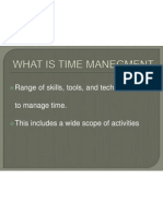 Time Mangment