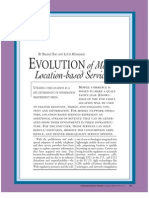 Evolution of Mobile Location-based Services