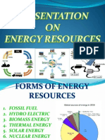 Ppt on Energy Resources
