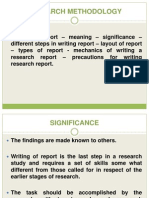 Research Methodology Unit - 5