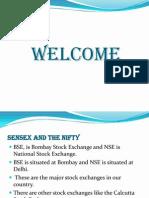 Sensex and the Nifty - Priyanga