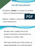 Volatility - Senthil Kumar