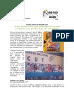 La CUT Celebra Sus Bodas de Plata. 23 Nov.
