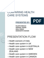 ion of Healthcare System in Various Countries