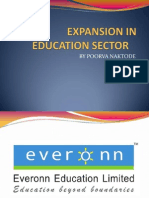 Expansion in Education Sector-everoon