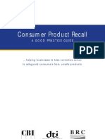 Product Recall Guide