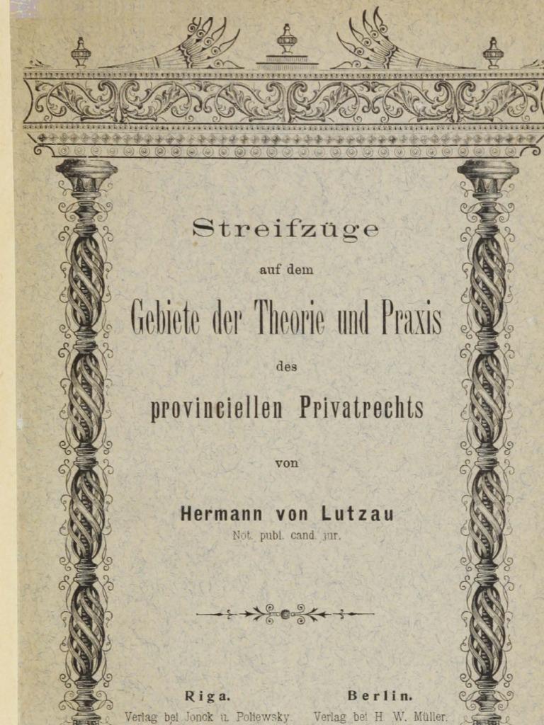 Alte Pornen streifzüge auf-dem gebiete der theorie und praxis