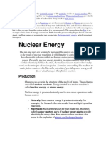 Nuclear Potential Energy is the Potential Energy of the Particles Inside an Atomic Nucleus