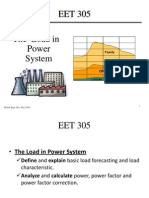 EET 305 Chapter 5 the Load in Power System