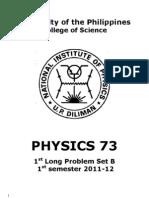 73 1st Long Problem Set B