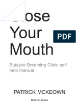 Close Your Mouth