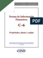 NIF C 6 Propiedades Plantayequipo