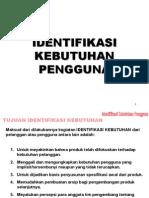 P3-Bab 5  [Identifikasi Kebutuhan Pelanggan]