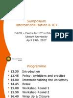 Internationalisering en ICT