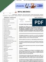 Lo que hay que saber sobre el plegado - 14_06_2007 - Metal-mecánica