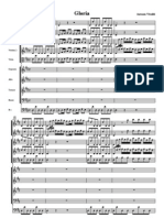 Gloria Vivaldi Full Score